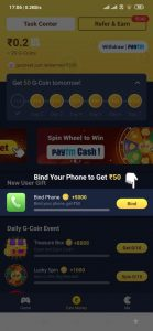Galo app Earn Daily ₹150 by Galo Script with Unlimited Trick