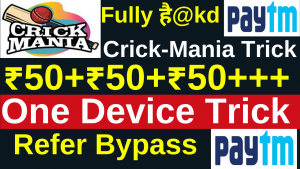 Crick Mania 1-Device Unlimited Refer Bypass Trick
