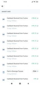 Paytm Unlimited Money adder Live Proof