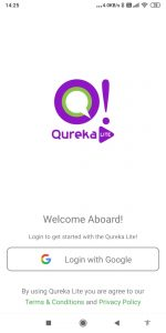 How to SignUp in Qureka Lite app