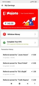 Nojoto app 1-Device Unlimited Refer Bypass Trick
